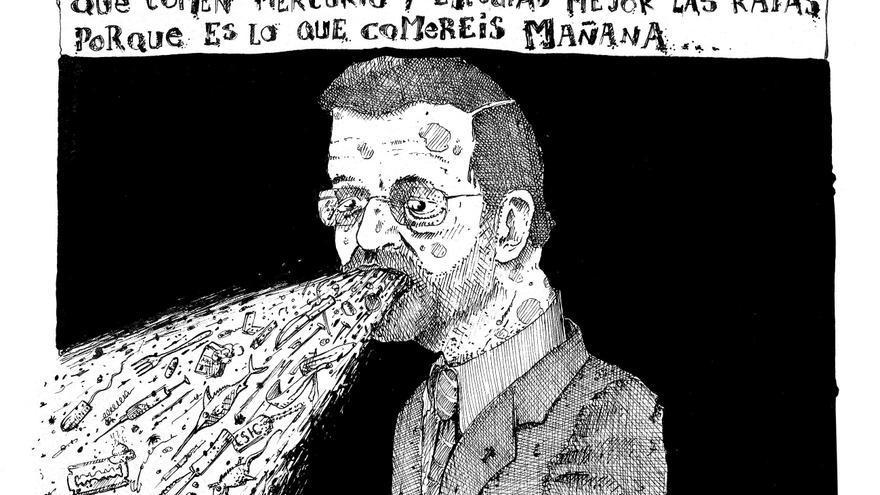 Ilustracion Josep Berenguel Peces y Ratas