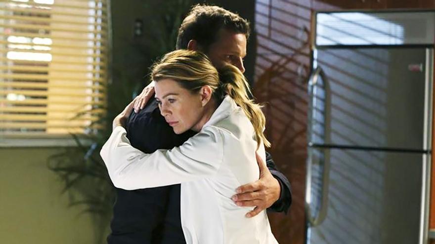 Ellen Pompeo reacciona a la despedida de Karev de 'Anatomía de Grey'