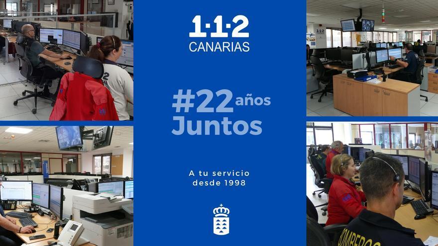 Servicio 112 de Canarias.