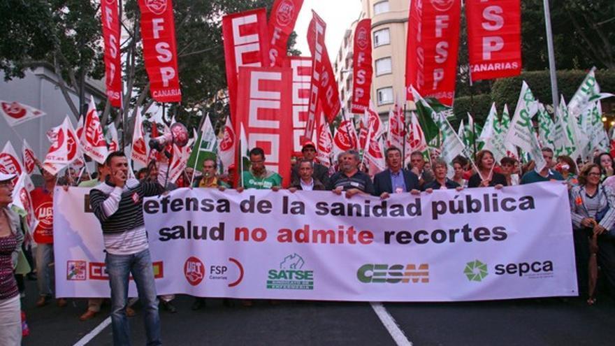 De las protestas en Tenerife #4