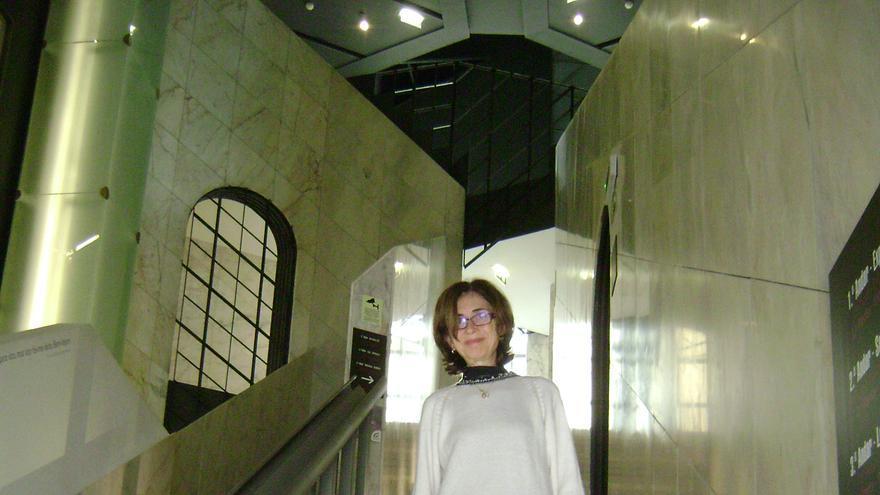 La viuda de José Saramago, Pilar del Río. / Rosa María Artal