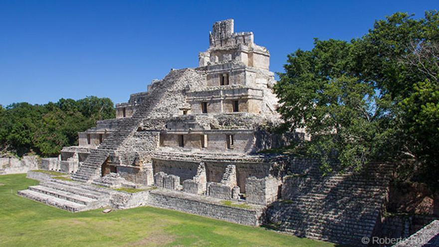Yacimiento maya de Edzná