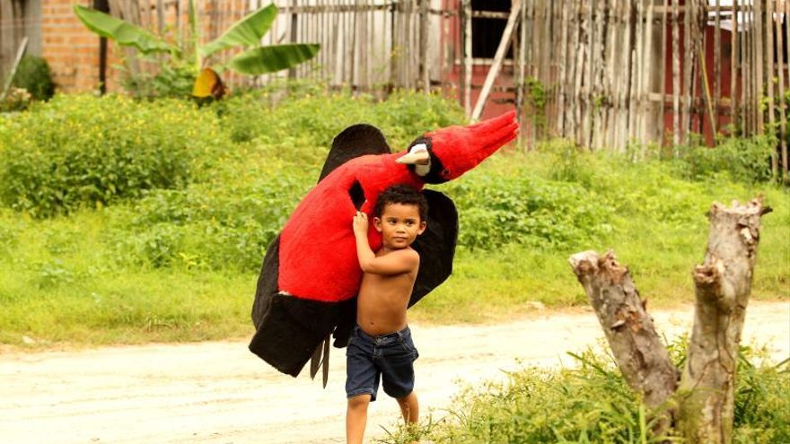 Los animales de la Amazonía claman por respeto en el carnaval de Brasil