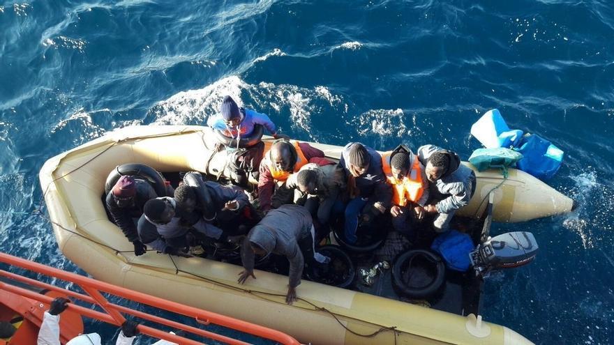 Andalucía arranca 2017 con el mayor número de inmigrantes interceptados a inicios de año durante el último lustro