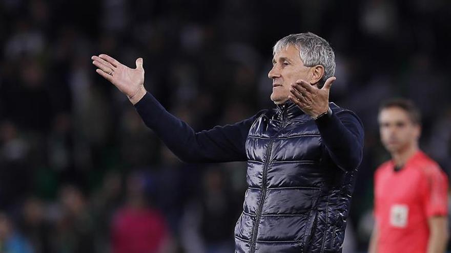 El técnico del Betis, Quique Setién EFE/Jose Manuel Vidal.