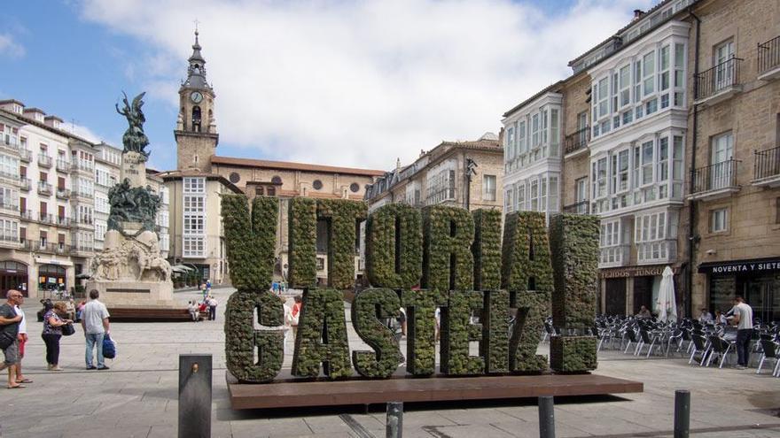 La capital Vitoria-Gasteiz
