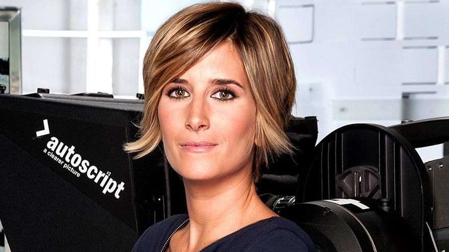 Ane Ibarzábal, presentadora de 'Crónica Cuatro'