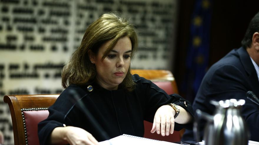 """Santamaría advierte de que no hay consenso sobre la reforma de la Constitución, """"ni siquiera"""" dentro del PSOE"""