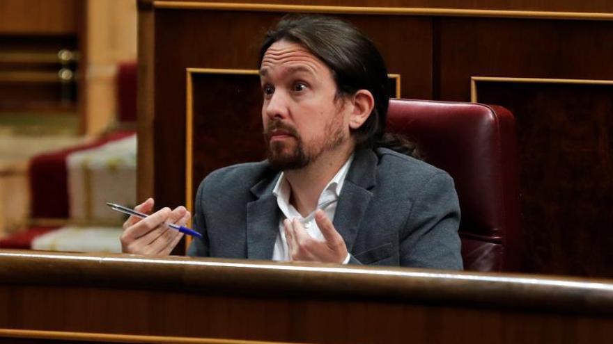 """Iglesias dice a Sánchez: si hablamos los dos """"hay una posibilidad"""" de acuerdo"""
