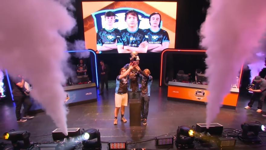 Northern Gaming alza el trofeo mundial