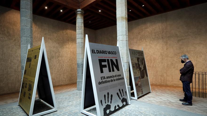 Pamplona muestra la mirada de las víctimas durante 60 años de terrorismo