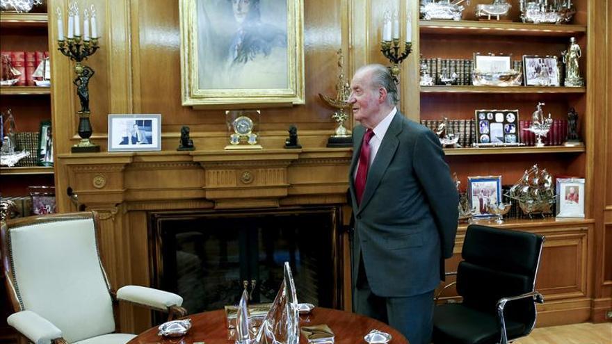 El Rey recibe hoy en la Zarzuela al ministro kazajo de Exteriores