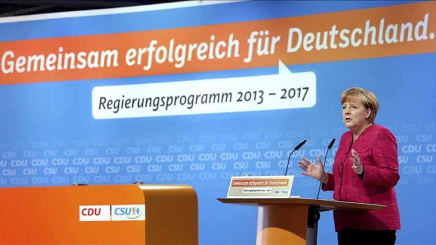 Merkel camina tranquila hacia su tercer mandato