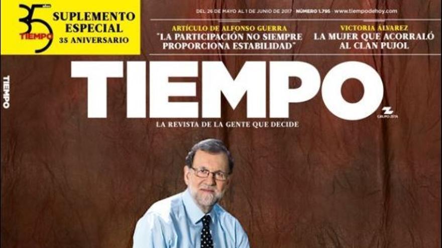 """El presidente del Gobierno, Mariano Rajoy: """"Estoy en el mejor momento de mi vida"""""""