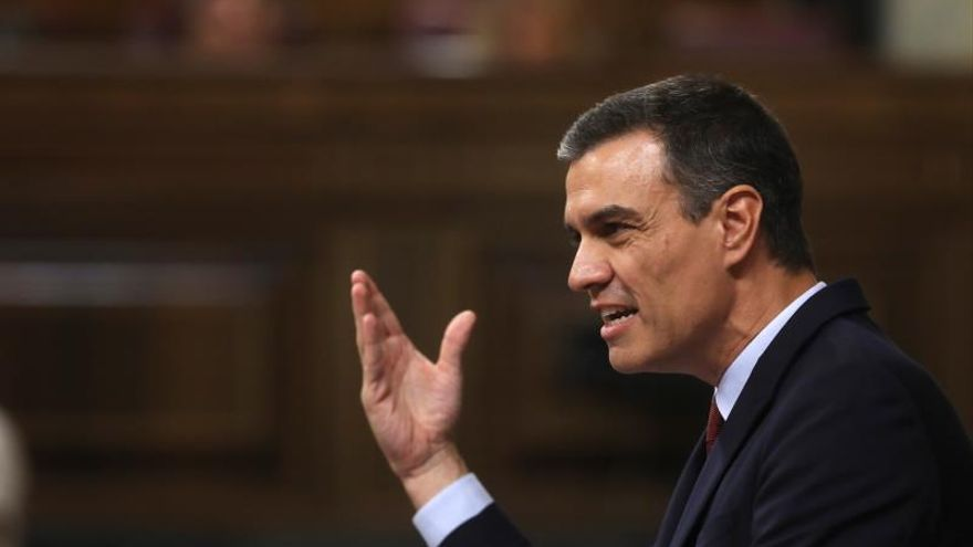 El presidente en funciones y candidato a la investidura, Pedro Sánchez.
