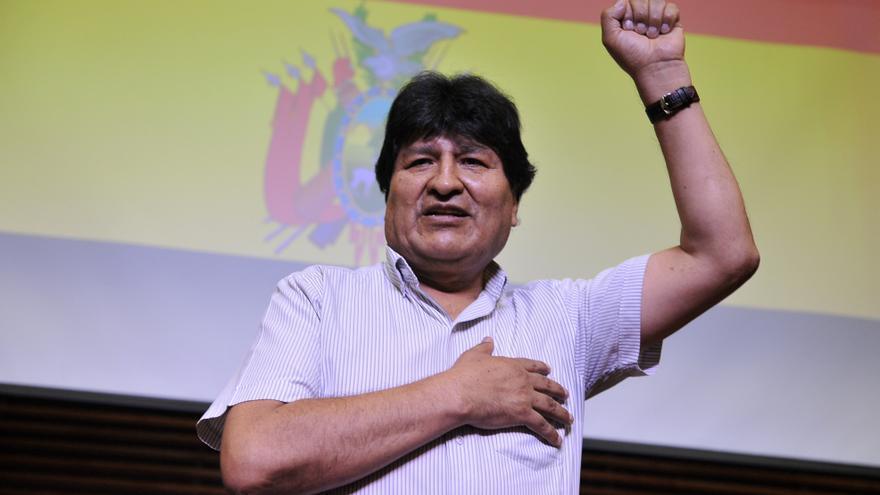 Morales critica la consulta de Colombia a la CorteIDH sobre reelección indefinida