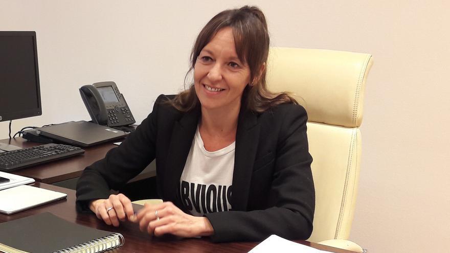 Inmaculada Herranz en una entrevista con eldiarioclm.es
