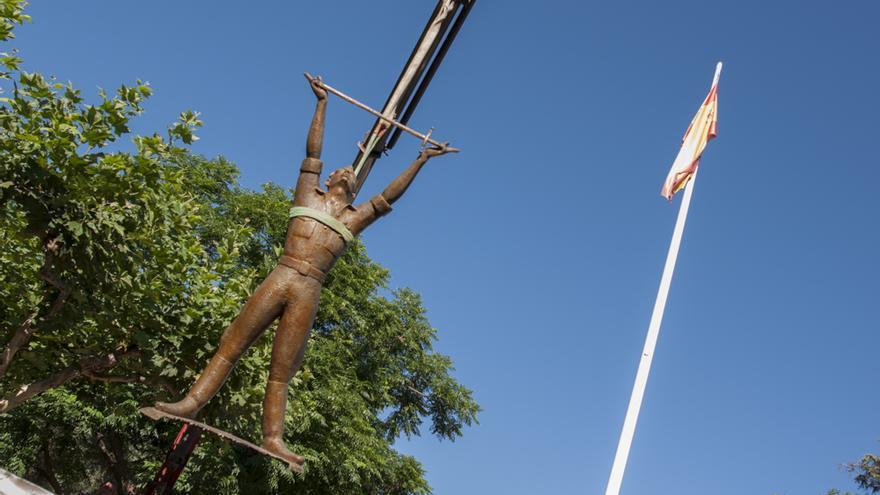 Monumento al Alférez Provisional que se ha retirado en Ciudad Real