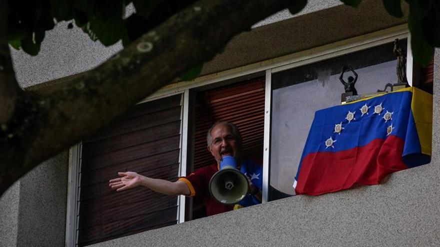El alcalde metropolitano de Caracas cumple dos años y medio privado de la libertad