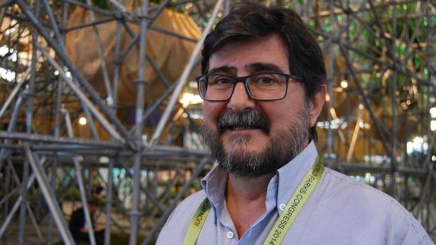 Manuel Durbán, director del parque nacional del Teide
