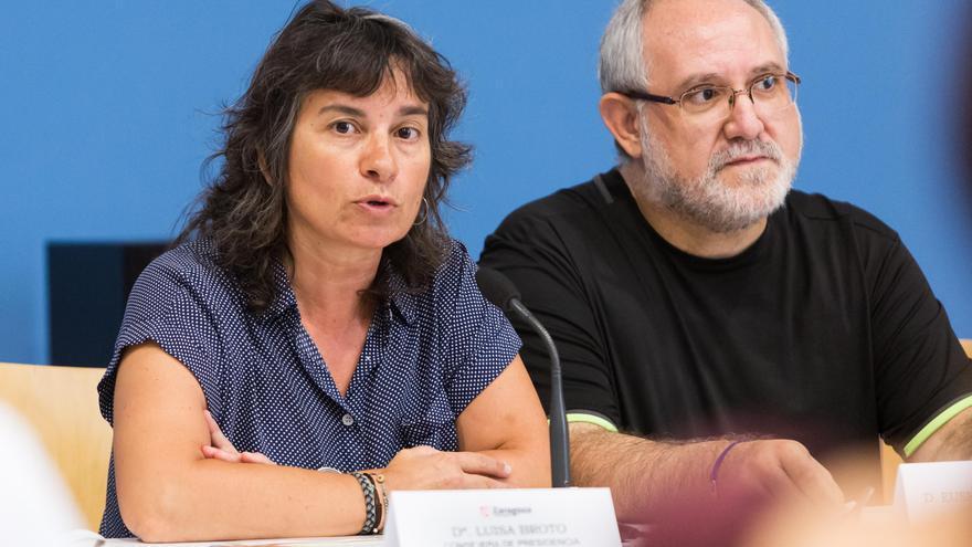 La vicealcaldesa y consejera de Derechos Sociales del Ayuntamiento de Zaragoza, Luisa Broto.