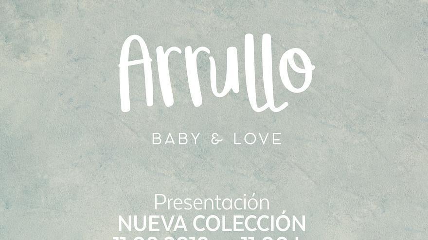 Cartel de presentación de la nueva colección 'Arrullo'.