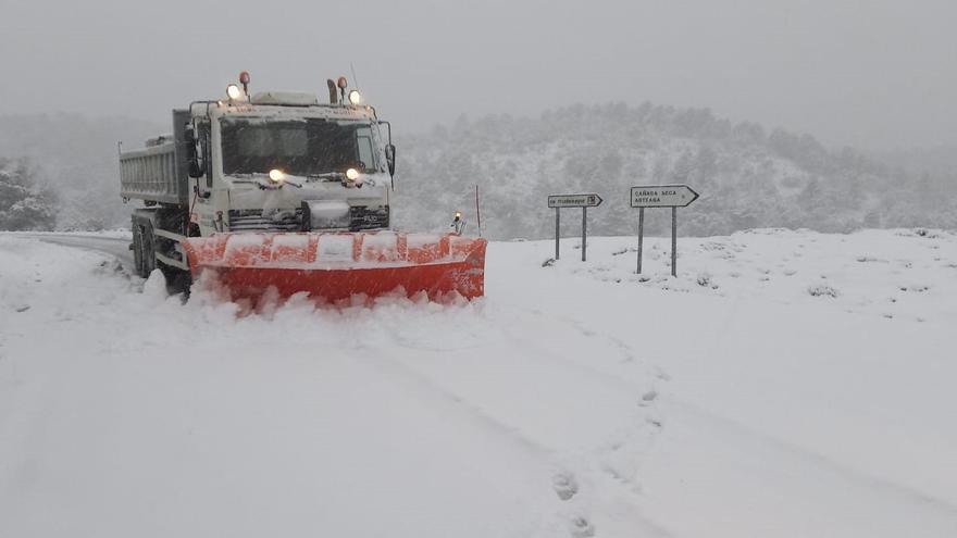 Se desactiva la pre-emergencia por nieve en Albacete