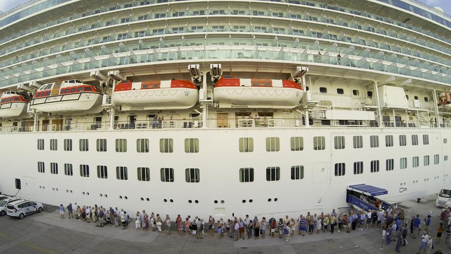El tráfico de cruceros, estratégico para Puertos de Tenerife