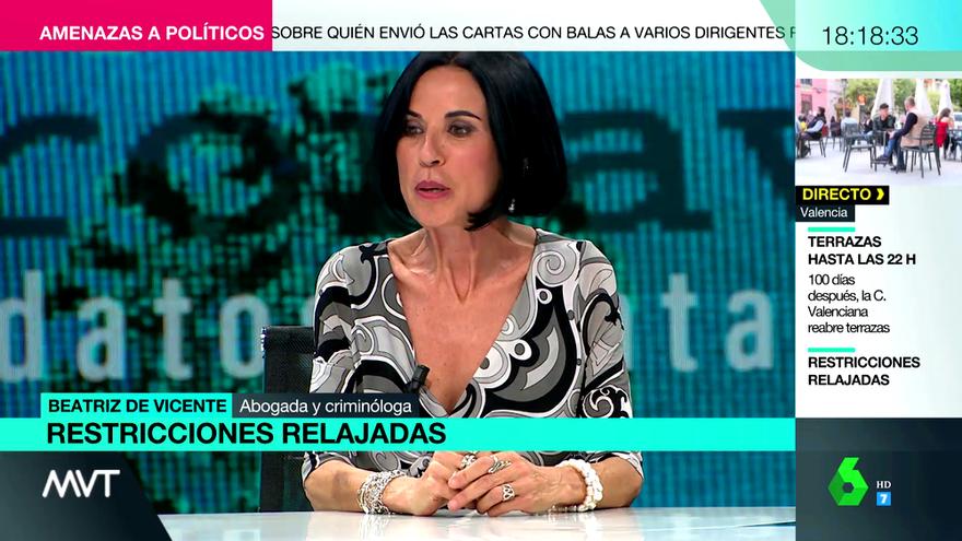 """Beatriz de Vicente narra su """"traumático"""" paso por el Zendal"""