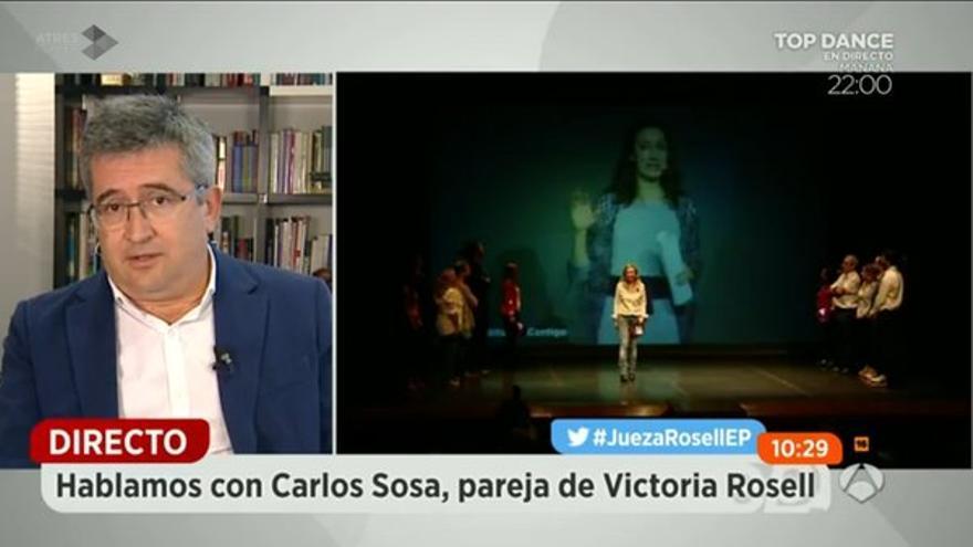 El director de Canarias Ahora, Carlos Sosa en Espejo Público