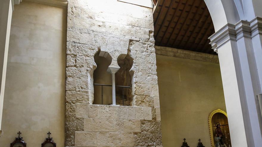 Imagen del antiguo alminar de la iglesia de Santiago | ÁLEX GALLEGOS