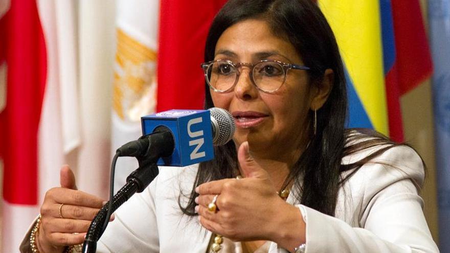 La oposición venezolana dice es ofensivo y ridículo el discurso en la OEA de la canciller