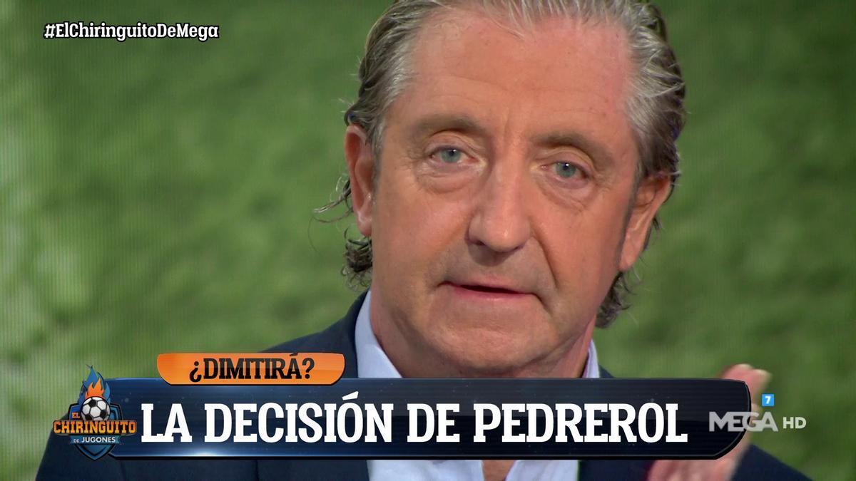Pedrerol, en 'El Chiringuito' sobre su dimisión