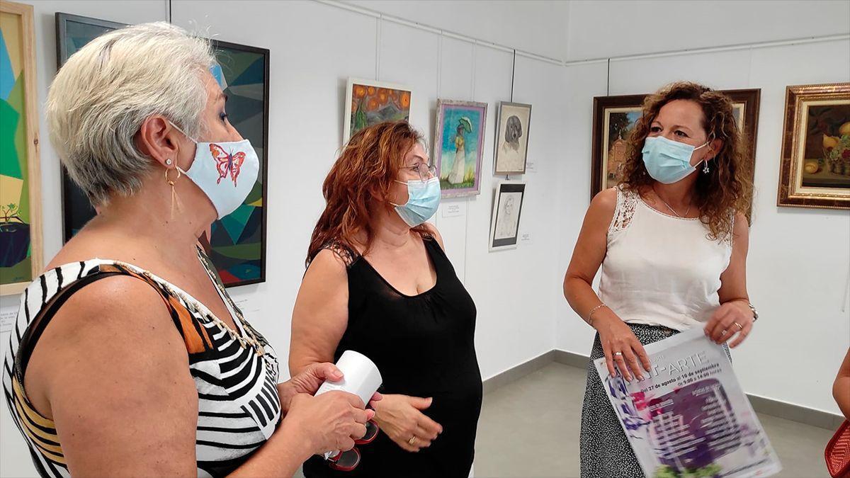 Exposición de Pint-Arte en Montilla