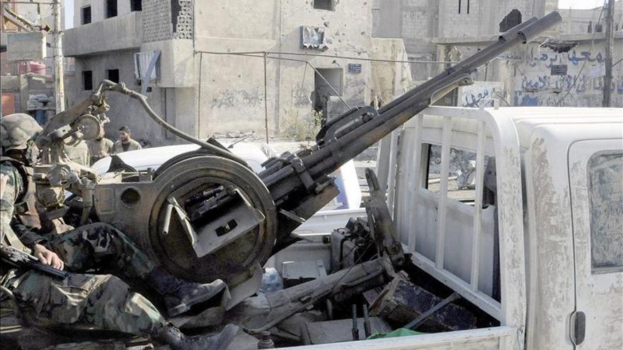 El Ejército sirio recupera el control de partes del casco viejo de Alepo