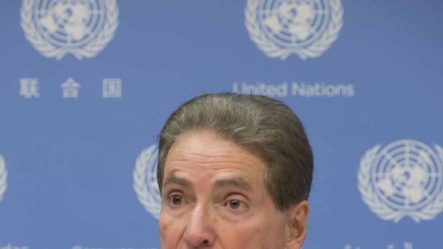 Alfred de Zayas, uno de los firmantes de un comunicado sobre el referéndum emitido por la Oficina del Alto Comisionado de la ONU