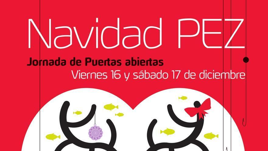 Cartel oficial de la fiesta navideña en PeZ