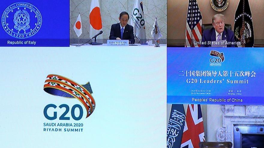 Arranca de forma virtual la cumbre del G20 desde Arabia Saudí