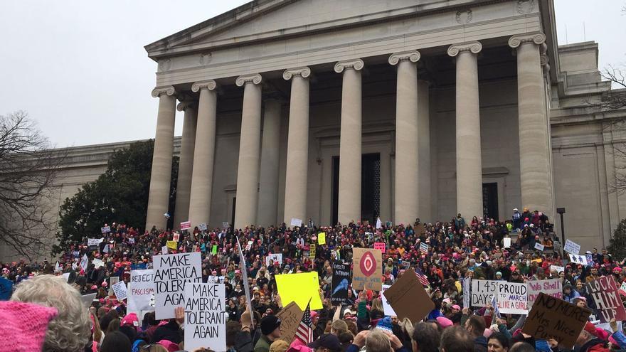 Marcha de las Mujeres en Washington DC