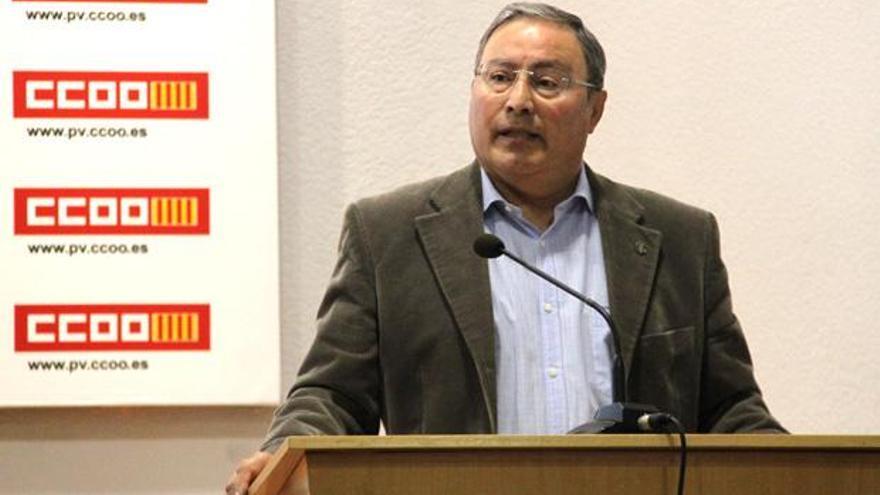 Paco Molina, secretario general de CCOO-PV