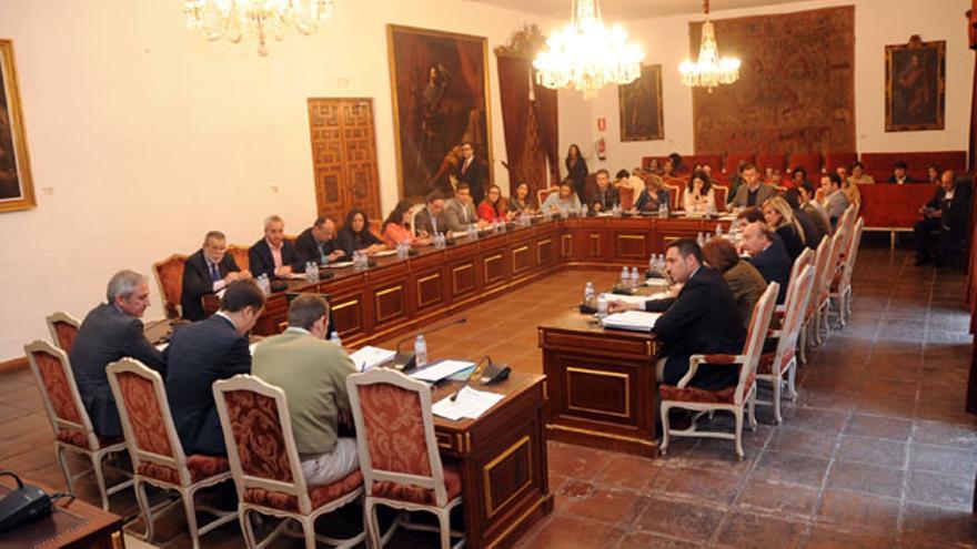 Pleno de la Diputación de Córdoba.