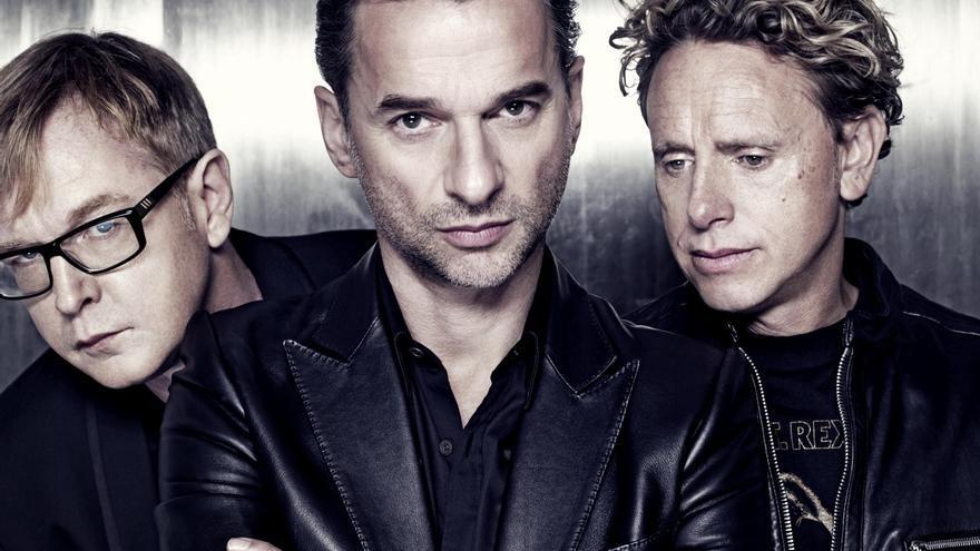 La banda británica Depeche Mode