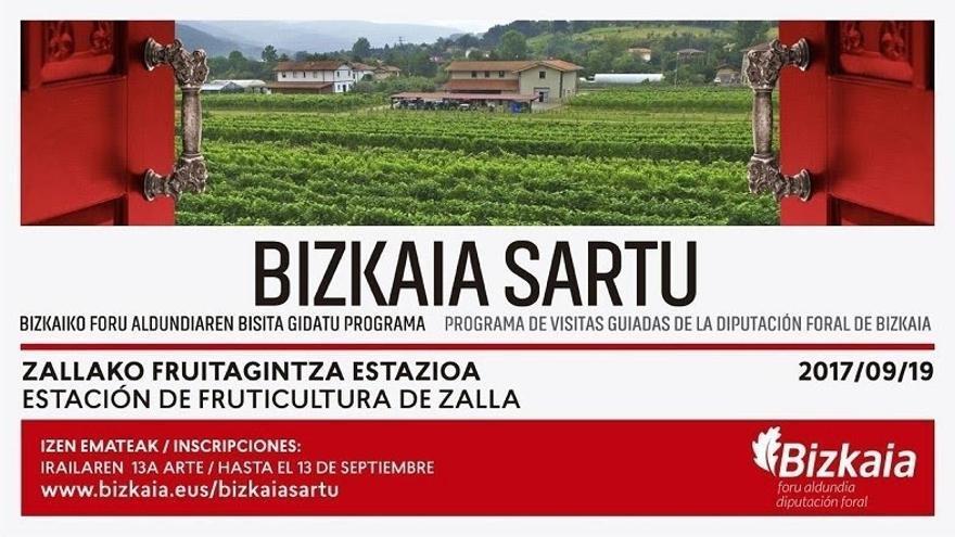 Bizkaia abre el plazo de inscripción para visitar la Estación de Fruticultura de Zalla en el ciclo de vendimia