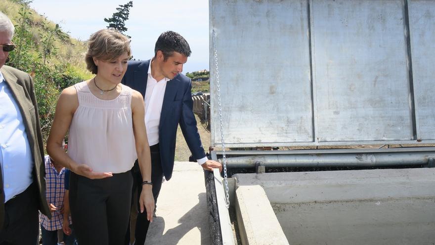 García Tejerina y Narvay Quintero este martes. Foto. EUROPA PRESS