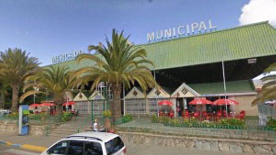 Mercado de Maspalomas, al que pueden acudir por un presunto convenio inexistente los habitantes de Mogán.