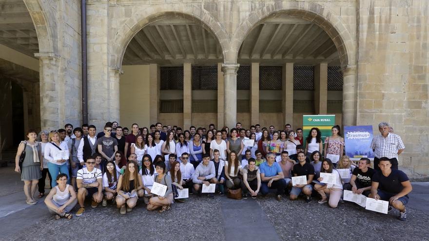 Solana entrega los diplomas Erasmus+ a 135 estudiantes de FP