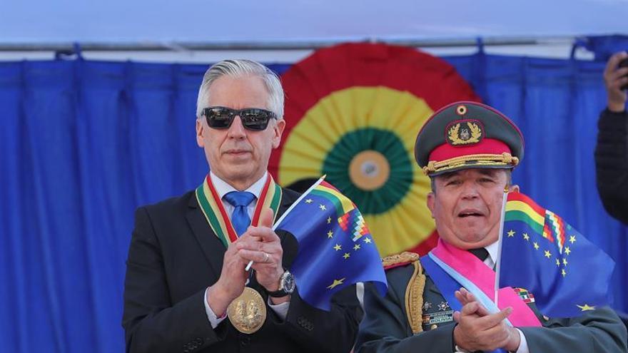 Homenajean en Bolivia a su héroe de hace 140 años en la guerra contra Chile