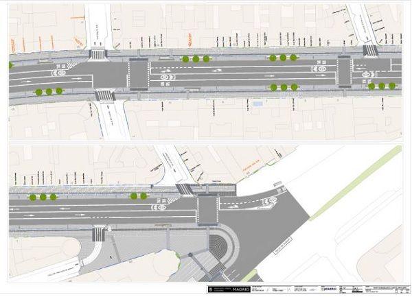 Plano de la futura Gran Vía | Ayuntamiento de Madrid