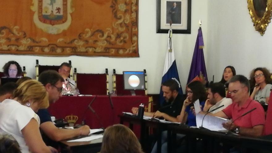 Pleno del Ayuntamiento de La Laguna.