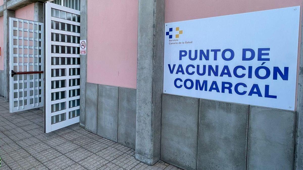 Centro de vacunación comarcal ubicado en El Paso.